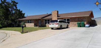Lovington Single Family Home For Sale: 1414 W Yucca