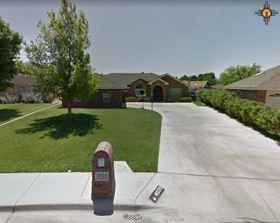 Hobbs Single Family Home Under Contract-Don't Show: 4020 N Fiesta Dr.