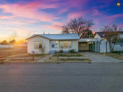 Lovington Single Family Home For Sale: 113 N 6th St