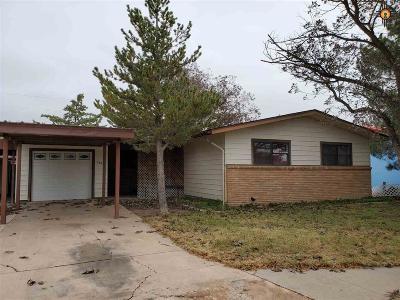 Lovington Single Family Home For Sale: 1214 W Tyler