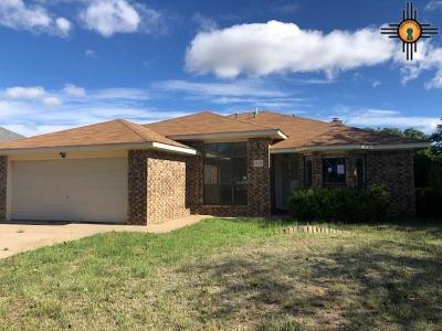 Clovis NM Single Family Home For Sale: $164,000