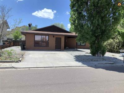 Gallup Single Family Home For Sale: 3722 Maya
