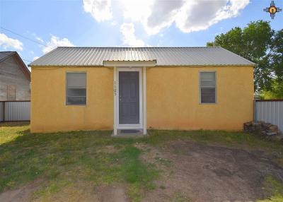 Portales NM Single Family Home For Sale: $39,000