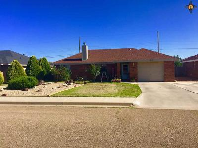 Clovis NM Single Family Home For Sale: $145,000
