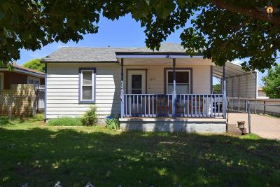 Single Family Home For Sale: 1629 N Lea St