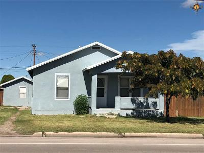 Portales Single Family Home For Sale: 913 E 3rd St.