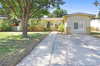 Hobbs Single Family Home For Sale: 515 E Seco Dr.