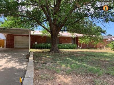 Portales Single Family Home For Sale: 1315 S Main