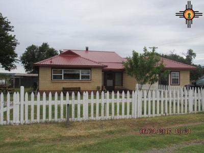 Tucumcari Single Family Home For Sale: 6299 Quay Road Aq
