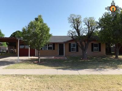 Lovington Single Family Home For Sale: 1306 W Jefferson Ave