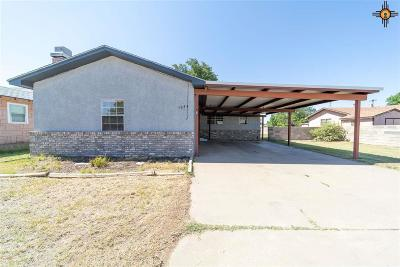 Portales Single Family Home For Sale: 1024 E 3rd