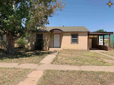 Portales Single Family Home For Sale: 117 S Houston