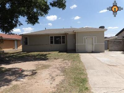 Lovington Single Family Home For Sale: 1013 W Madison