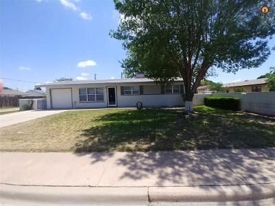 Lovington Single Family Home For Sale: 1105 N 16th Street