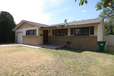 Lovington Single Family Home For Sale: 1118 W Polk