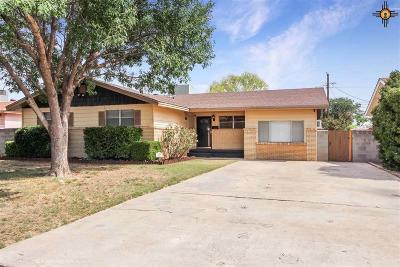 Hobbs NM Single Family Home For Sale: $155,000