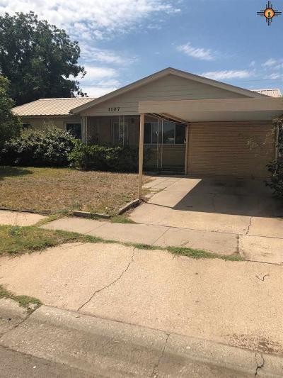 Hobbs Single Family Home For Sale: 1107 E Walker