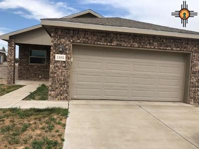 Portales Single Family Home For Sale: 1805 Quail-Wood Dr