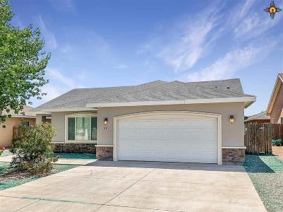Hobbs NM Single Family Home Active, U/C-Take Back Ups: $216,000