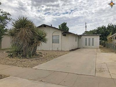 Lovington Single Family Home For Sale: 307 W Ave I