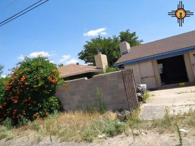 Hobbs NM Single Family Home For Sale: $128,250