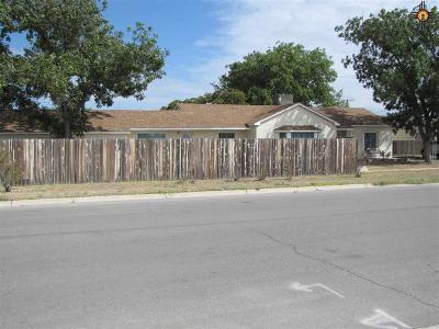 Eunice Single Family Home For Sale: 1012 Avenue J