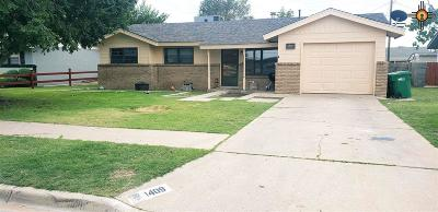 Lovington Single Family Home For Sale: 1409 W Cottonwood Ave