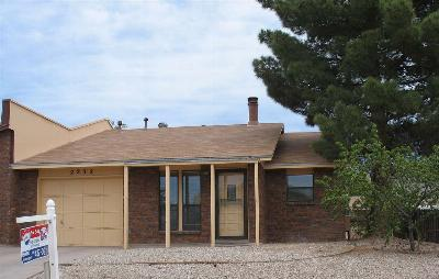 Alamogordo NM Single Family Home For Sale: $114,700