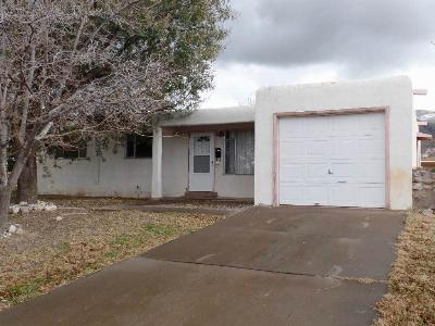 Alamogordo NM Single Family Home For Sale: $83,700