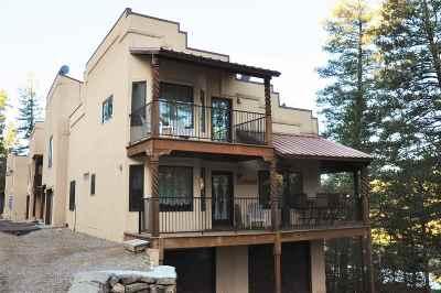 Cloudcroft Single Family Home For Sale: 5 Sleepy Bear Loop