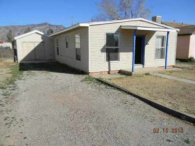 Alamogordo Single Family Home For Sale: 1518 Alaska Av