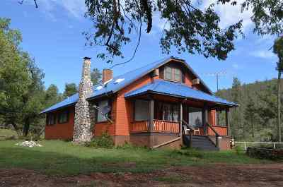 Pinon Single Family Home For Sale: 995 Pinon Draw Rd