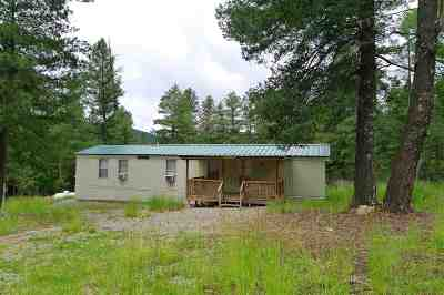 Cloudcroft Single Family Home For Sale: 36 Wild Rose