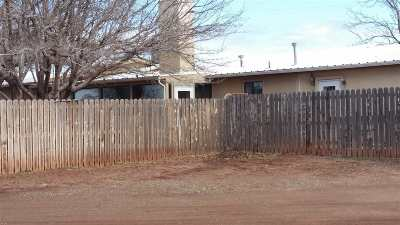 Tularosa Single Family Home For Sale: 6&8 Coyote Canyon Rd
