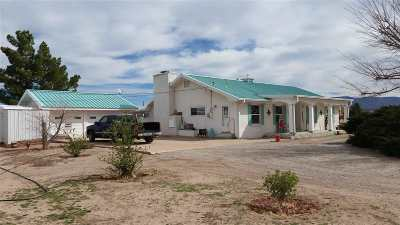 Tularosa Single Family Home For Sale: 310 Sierra Blanca Ave
