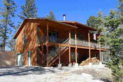 Cloudcroft Single Family Home For Sale: 1087 Blanca Vista