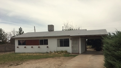 Tularosa Single Family Home For Sale: 1505 Apple Ave