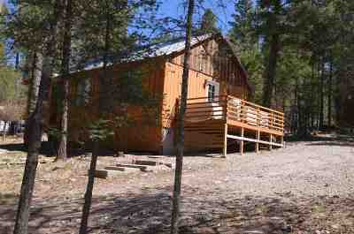 Cloudcroft Single Family Home For Sale: 9 Turkey Trl