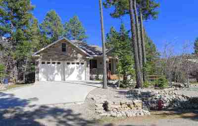 Cloudcroft Single Family Home Under Contract: 740 Little Bear