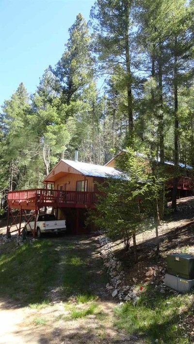 Cloudcroft Single Family Home For Sale: 5 Retreat Rd