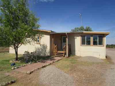 Tularosa Single Family Home Uc W/Contingency: 91 Sun Valley Rd