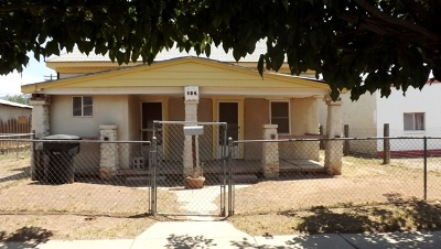 Alamogordo Single Family Home Under Contract: 504 Eighth St