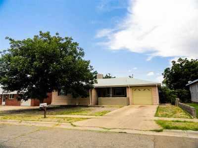 Alamogordo Single Family Home For Sale: 2301 Aspen Dr
