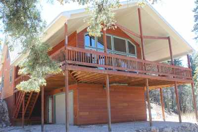 Cloudcroft Single Family Home For Sale: 242 Cox Canyon Hwy