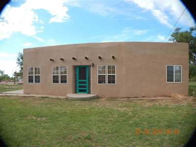 Tularosa Single Family Home For Sale: 7 Baca Farms Rd