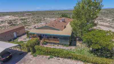 Alamogordo Single Family Home For Sale: 21031 W Us Hwy 70