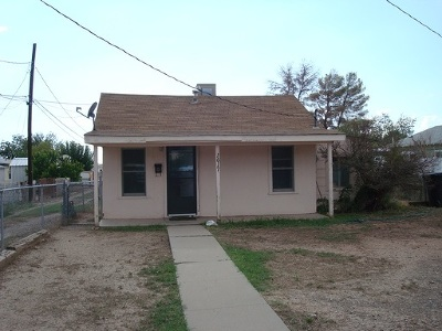 Alamogordo Single Family Home For Sale: 1617 Cuba Av