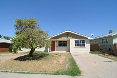 Alamogordo Single Family Home For Sale: 2307 Aspen Dr