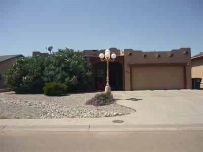 Alamogordo Single Family Home For Sale: 2150 Tierra De Suenos