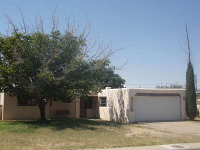 Alamogordo Single Family Home For Sale: 1739 Corte Alegre